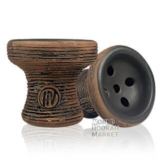Harvik hookah bowl TIKI YELLOW //perfect bowl for your hookah//hand made